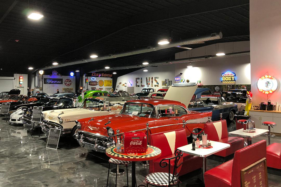30,000 sq ft of Classic Cars