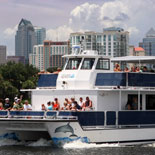 Encounter animals that thrive in local waters, aboard a 72-foot, 130 passenger powered catamaran