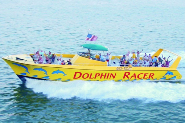 Dolphin Racer Speedboat Adventure
