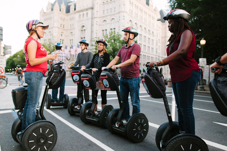 Segway is the coolest machine in the world