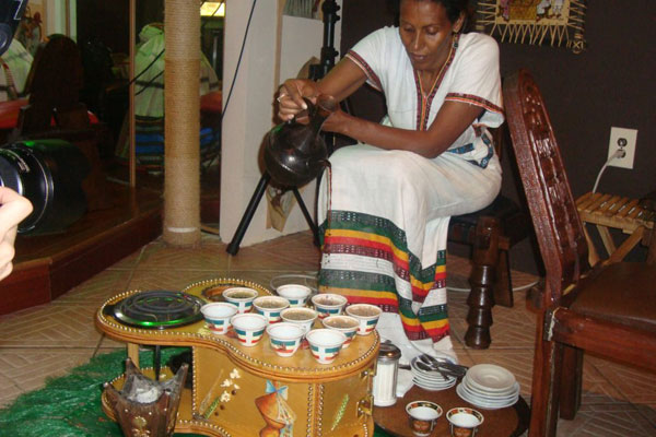 Experience a Coffee Ceremony