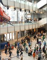 Newseum Atrium