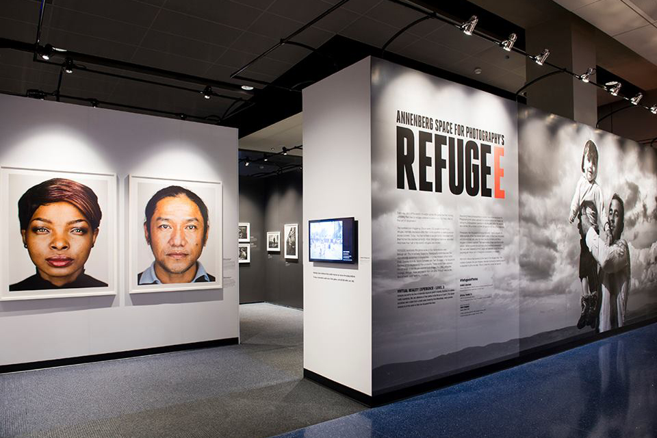 The Annenberg Space for refugees