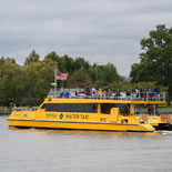 25 minute water taxi ride down the Potomac River