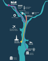 The Wharf Water Taxi Map