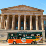 Sit back while expert tour guides help you discover the beauty and majesty of Washington D.C.