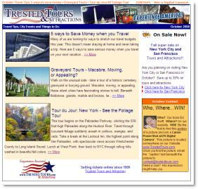Trusted Tours NewsLetter